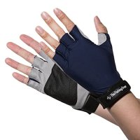The Fishing Tree SUN PROTECTION FINGERLESS GLOVES, Maximum UPF 50+ UV Skin Screen, Easy To Wear, Versatile, BLOCK Sun Damage While DRIVING, FISHING, KAYAKING, All Outdoor Activity, Great Gifts