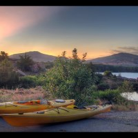 Quanah Parker Kayaking, Wichita Mountains, Oklahoma - Kayaking