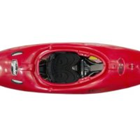 Riot Kayaks Thunder 65 Whitewater River Running Kayak (Red, 7-Feet)