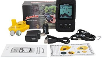 leaningtech jl718 portable wireless sonar smart fish finder, with, Fish Finder