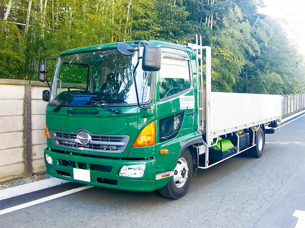 産業廃棄物収集・処分 平ボディー車