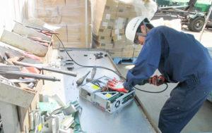 職場体験 インターンシップ 豊川リサイクルプラント