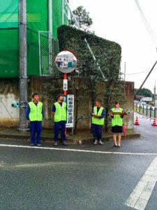 豊川市 交通安全 シートベルトチェック 安全衛生委員会