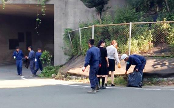 豊川市 地域清掃活動 全体清掃 拡大清掃