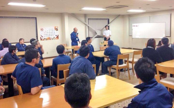 豊川リサイクルプラント 交通安全 交通安全講話