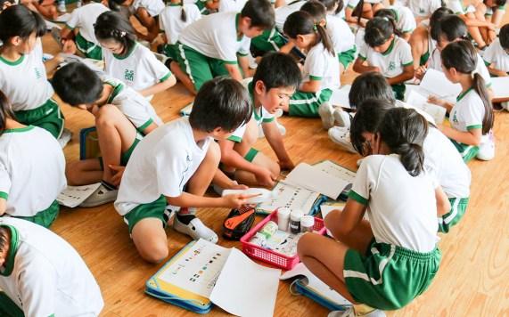 CSR活動 環境授業 豊川市立八南小学校 2017-2