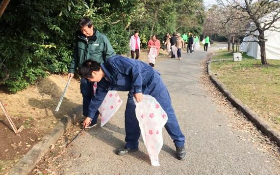 愛知県産業廃棄物協会 豊橋市清掃活動