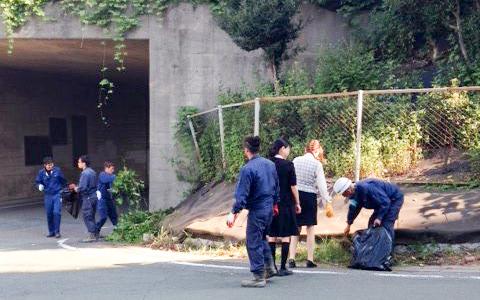 豊川工場 周辺清掃活動