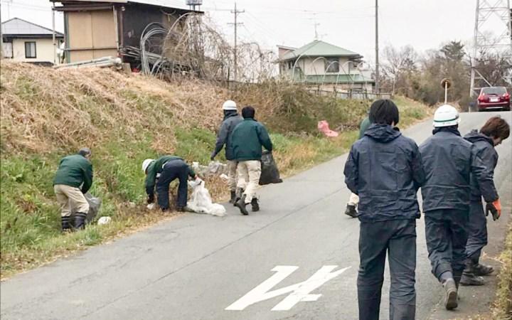 加山興業 豊川営業所 清掃活動