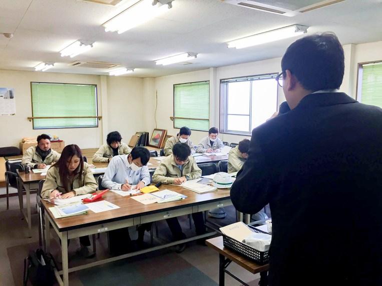 加山興業 社内研修 実務研修(廃棄物に関する基礎知識を学ぶ)