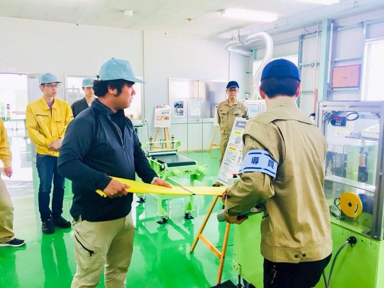 産業廃棄物処理 加山興業 CSR活動 安全体感研修