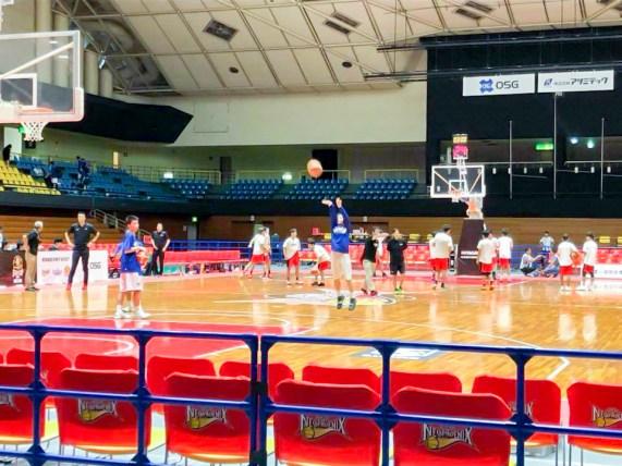 B.LEAGUE EARLY CUP 2018 TOKAI 豊橋市総合体育館