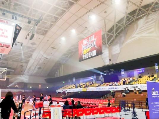 B.LEAGUE 2018-19 B1リーグ戦 三遠ネオフェニックスvs.レバンガ北海道