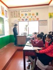 CSR活動 海外 ラオス 環境授業