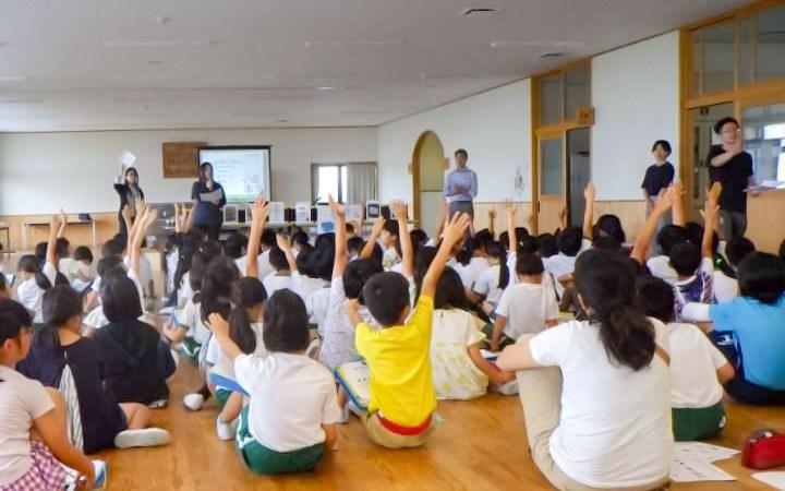 豊川市 八南小学校 環境授業 ゴミ 分別