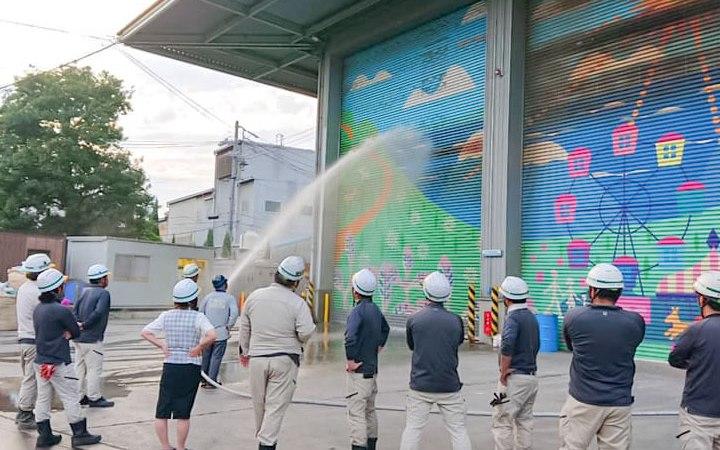 愛知県 豊川市 産業廃棄物処理 防火訓練 CSR活動