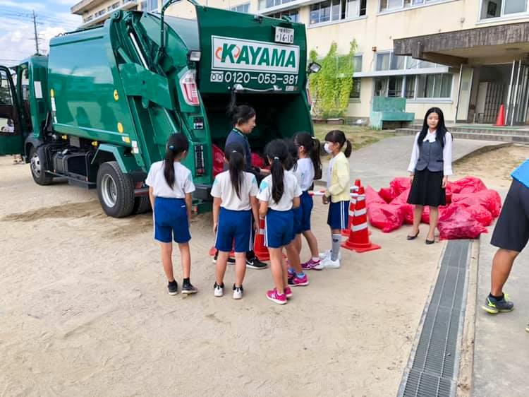 愛知県 豊川市 小学校 環境授業 CSR活動
