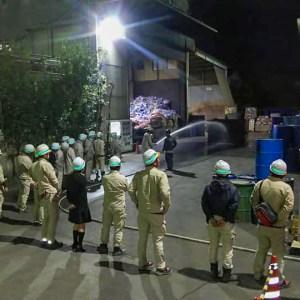 CSR活動 防火訓練 豊川市 愛知県 廃棄物処理 リサイクル