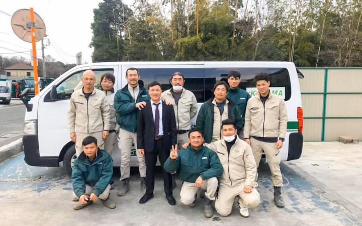 ベトナム人実習生 愛知県 豊川市 産業廃棄物処理 ゴミ処分