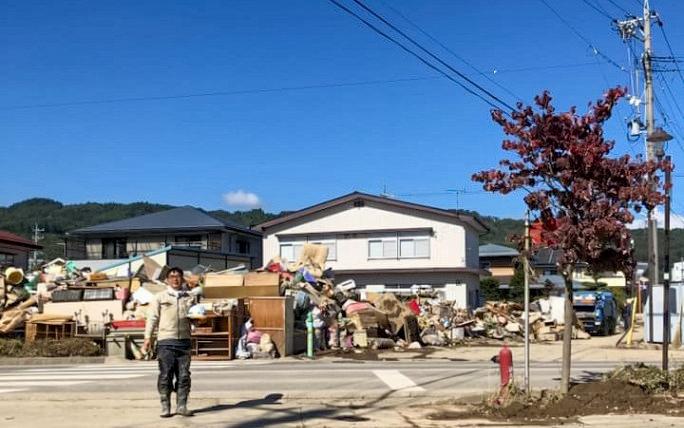 長野県豪雨災害ボランティア