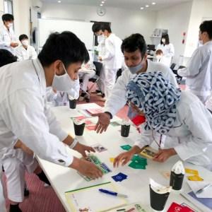 武蔵精密工業 新人研修 SDGsカードゲームセミナー