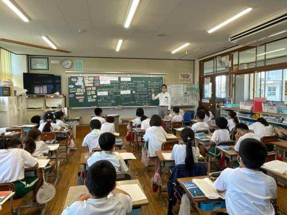 愛知県 豊川市 環境授業 八南小学校 ごみの分別授業 CSR活動