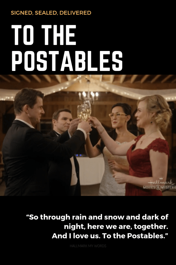 Signed Sealed Delivered - To the POstables