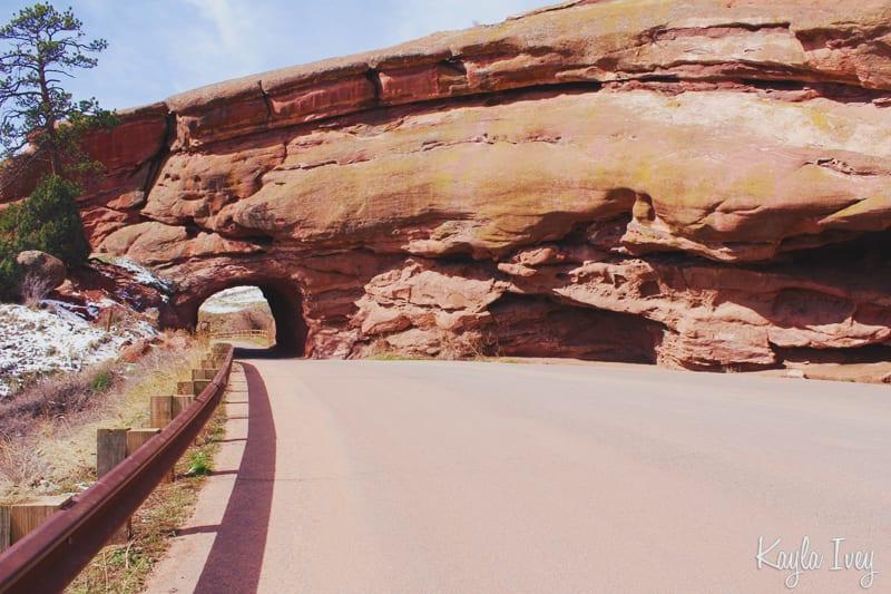 Colorado Red Rock Tunnel