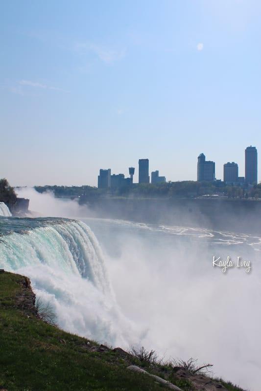 Niagara Falls and Canada Skyline