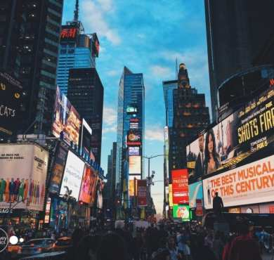 Times Square New York City Travel Photography