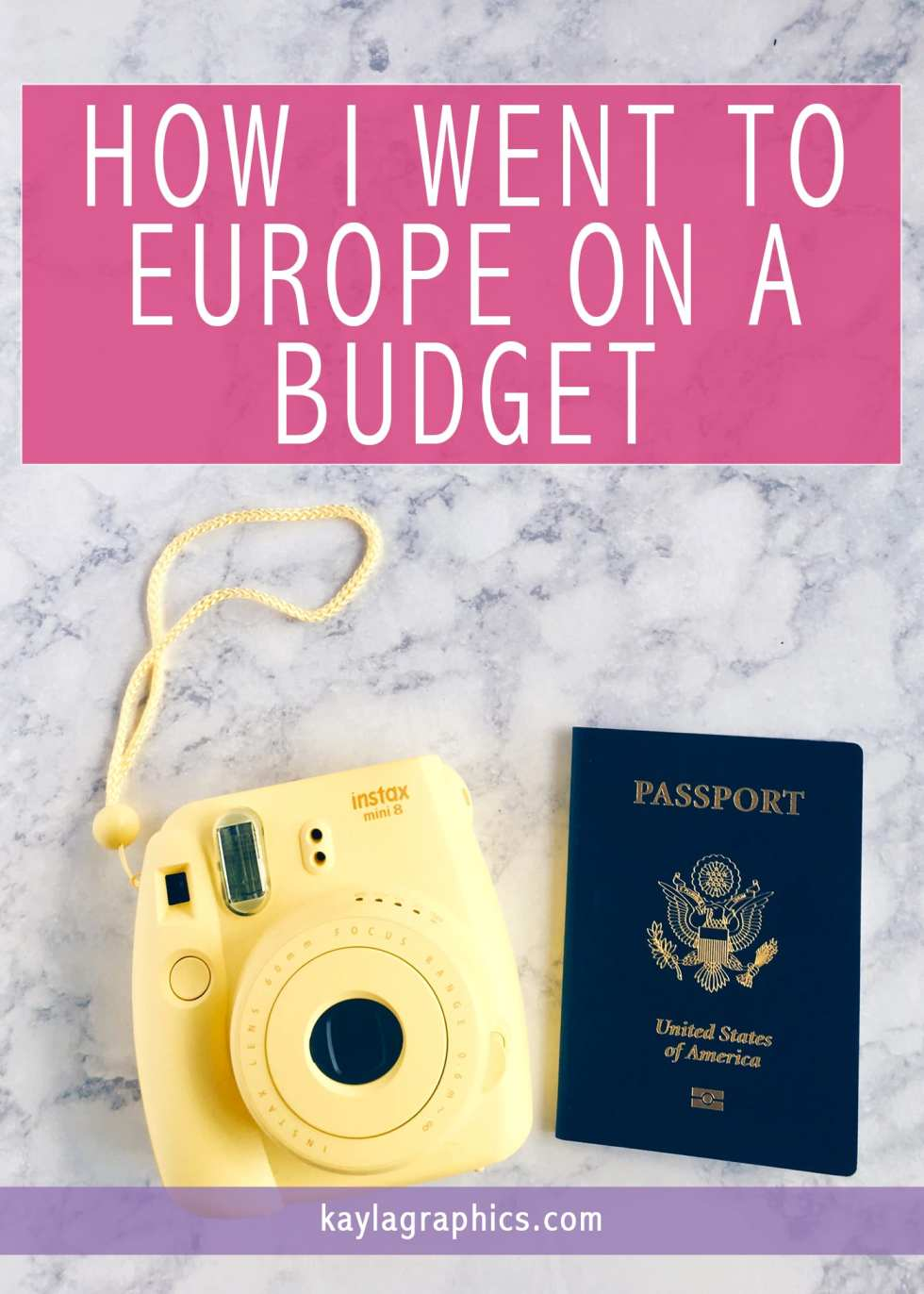 How I Went to Europe on a Budget