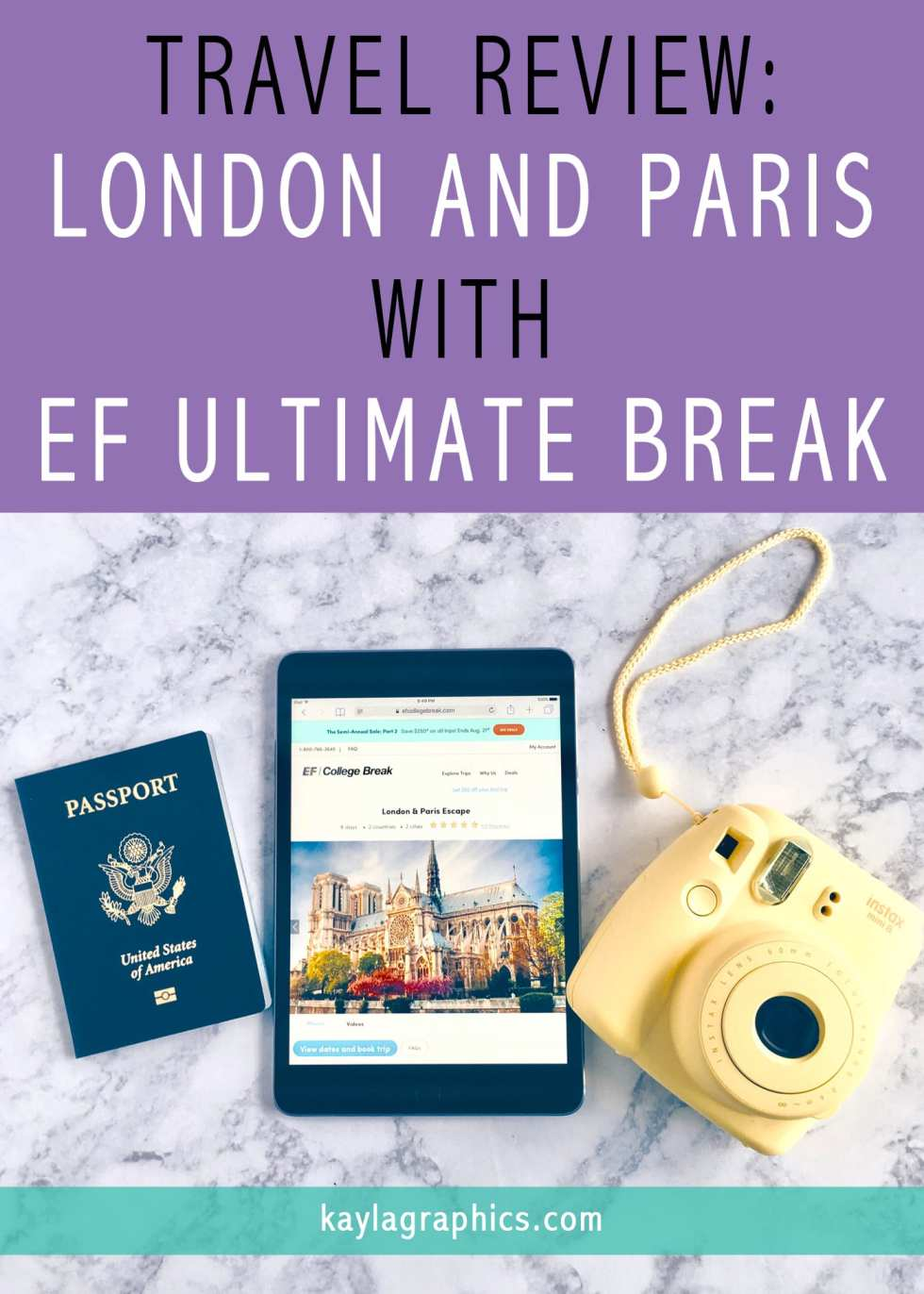 Travel Review London and Paris with EF Ultimate Break
