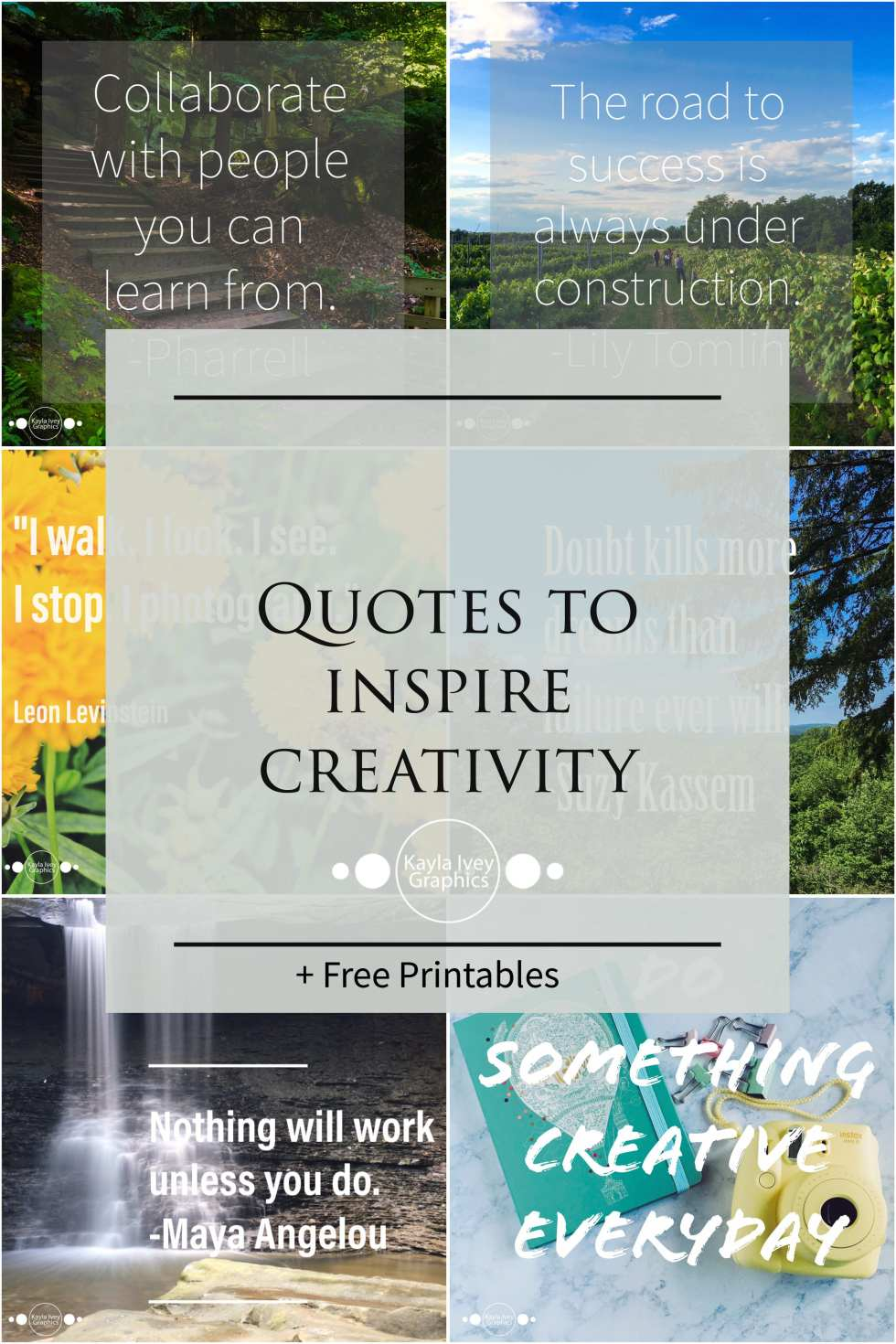 10 Inspiring Quotes for Photographers + Free Printables