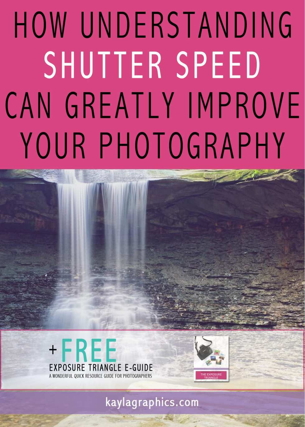 how understanding shutter speed can greatly improve photography plus free guide