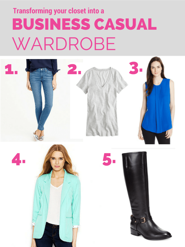 183e7715e7 Creating a Business Casual Wardrobe - Kayla in the City