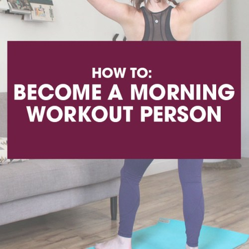 how to wake up early to workout, how to become a morning workout person, early morning workout