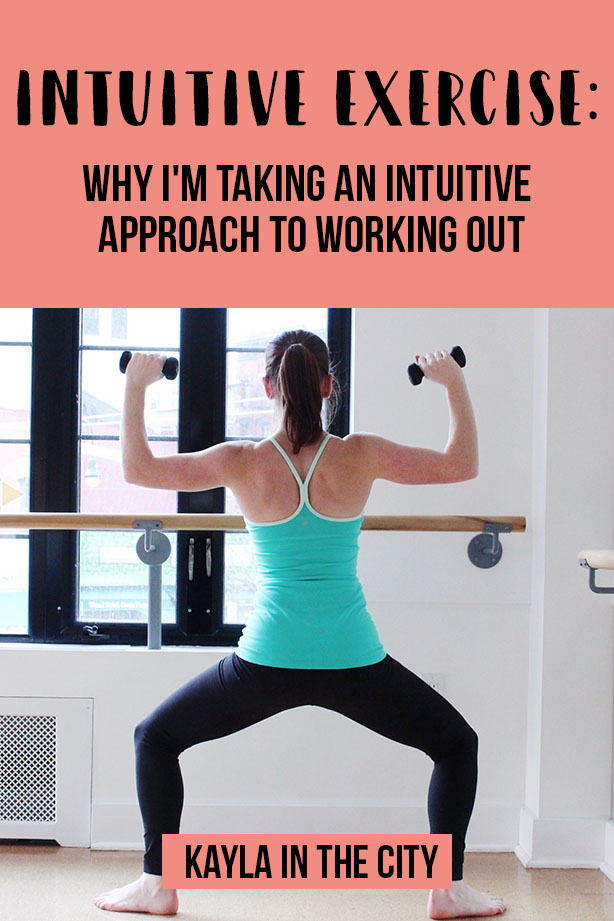 intuitive exercise