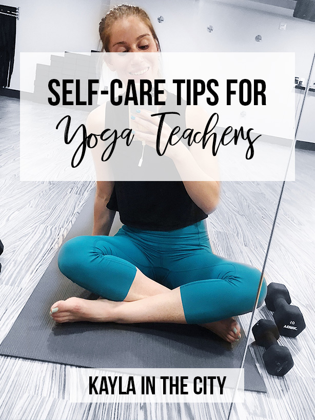 self-care yoga teachers
