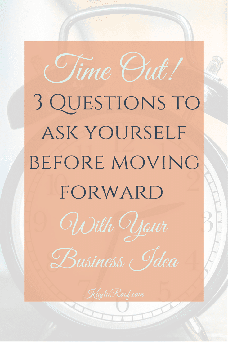 3 Questions to Ask Yourself Before Moving Forward with Your Business Idea-Great resource for military spouse entrepreneurs