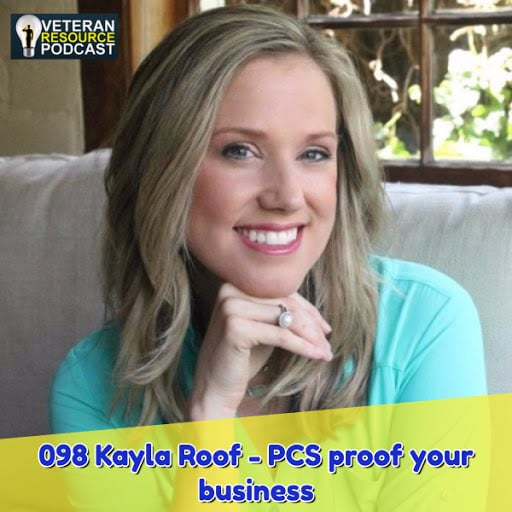 Kayla Roof Featured on The Veterans Resource Podcast