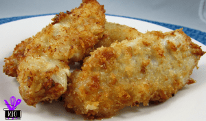 Air Fried Parmesan Chicken Strips