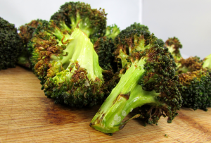 Air Fried Crispy and Tender Broccoli