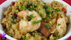 Instant Pot Shrimp and Sausage Jambalaya