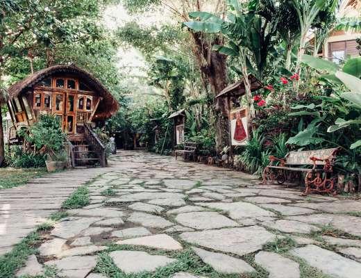 La Laguna Bali Entrance