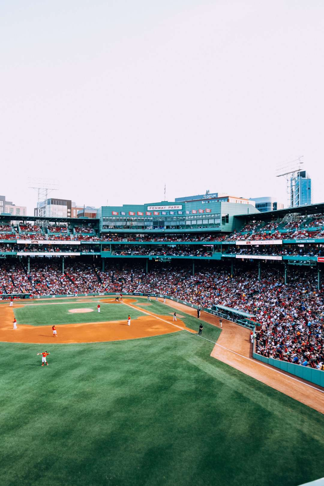 Veiw for Fenway Park Green Monster Seats