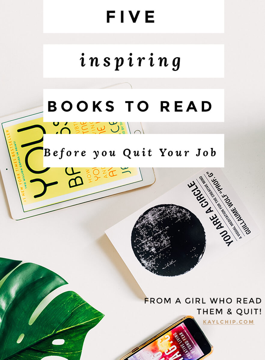5 Books to Read before you Quit Your Job