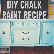 DIY Chalk Paint Project | Thrift Store Furniture Makeover