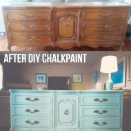 DIY Chalk Paint Recipe | Thrift Store Dresser Makeover | Lazy Painter