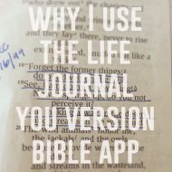 Why I use a Bible App | Tips for Spending Time with God