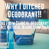 Magnesium Oil DIY Recipe | Chemical Free Deodorant Recipe